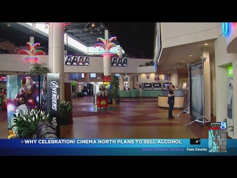 Celebration! Cinema North to sell alcohol to moviegoers