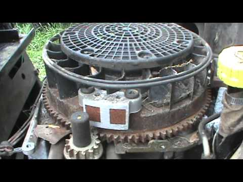 Cub Cadet coil repair cleanup fix 18 hp Kohler Command engine