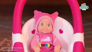 Kočárek pro panenku a dětské chodítko 2v1 MiniKiss