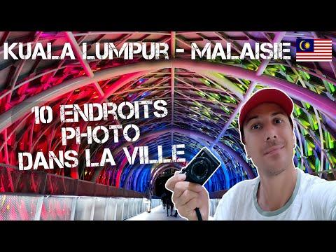 Kuala Lumpur - Malaisie / 10 endroits photo dans la ville