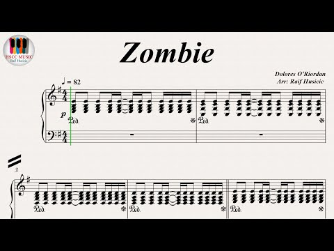 Zombie - The Cranberries, Piano