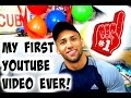 MY FIRST YOUTUBE VIDEO EVER! | Adrian Miguel