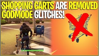 *NEW* Fortnite: SHOPPING CARTS REMOVED AGAIN... Here's Why! | (Godmode Glitches)
