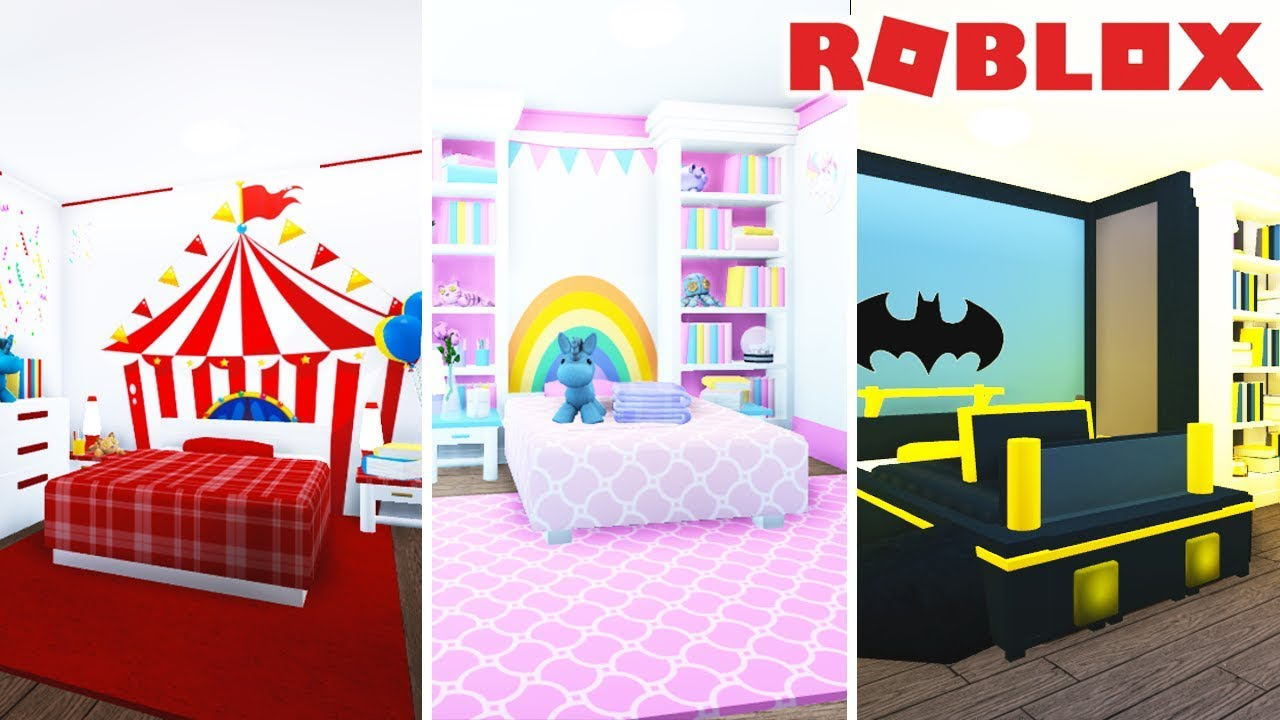 3 Themed Kids Bedroom Ideas For Bloxburg Welcome To Bloxburg Youtube