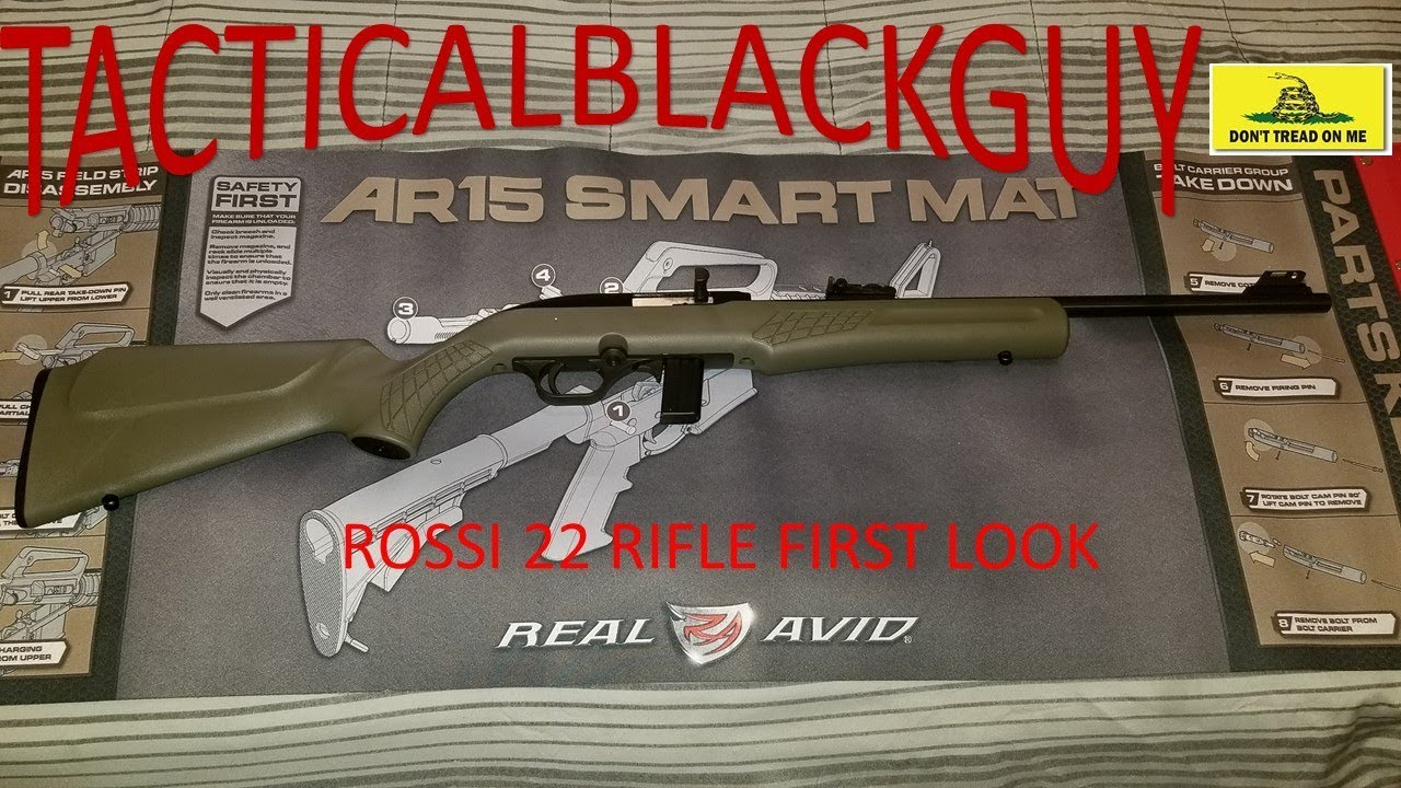 ROSSI 22 RIFLE AND TH9 ($299 ACADEMY SPECIAL) FIRST LOOK