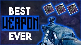 Destiny New Iron Banner Machine Gun Review | BEST PVP HEAVY GUN