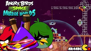 Angry Birds Space: Brass Hogs Level 9-4 Walkthrough 3 Star