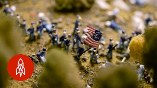 Civil War Tails: 5,000 Mini Cats Recreate American History