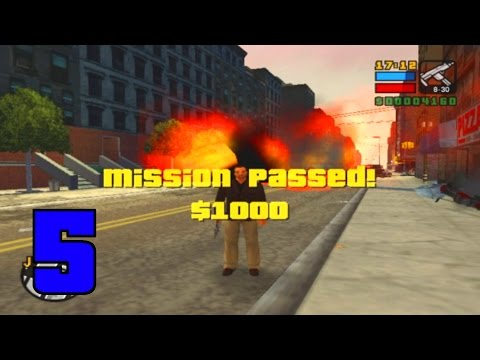 Jahova Plays GTA Liberty City Stories Episode 5 (HUGE BOMB TRUCK!!!)