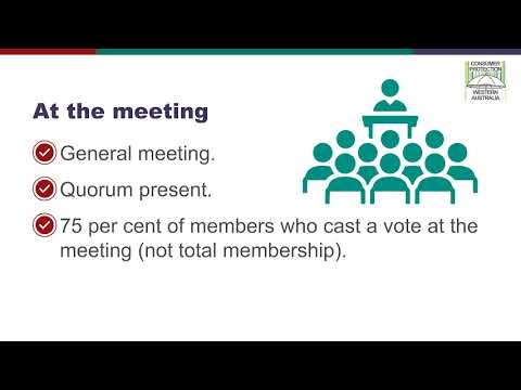 DMIRS Associations   Step 3   Voting On The New Rules