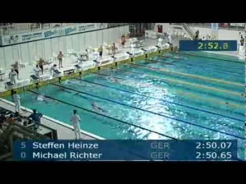Arena European Masters Championships Eindhoven, Event 22 Heat 13