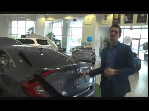 2016 honda civic walk around ft nicholas herrin of john eagle honda of houston youtube. Black Bedroom Furniture Sets. Home Design Ideas