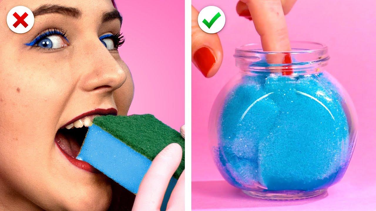 11 NAILS & Beauty Hacks! 💋 أفكار الجمال الذكية التي يمكن تعديلها بنفسك |