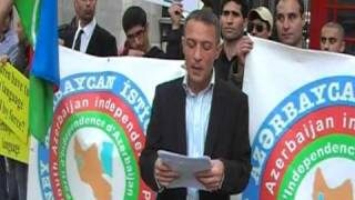 SOUTH AZERBAIJAN people demonstration in LONDON-2O/09/2009 (first day of schools starts)3