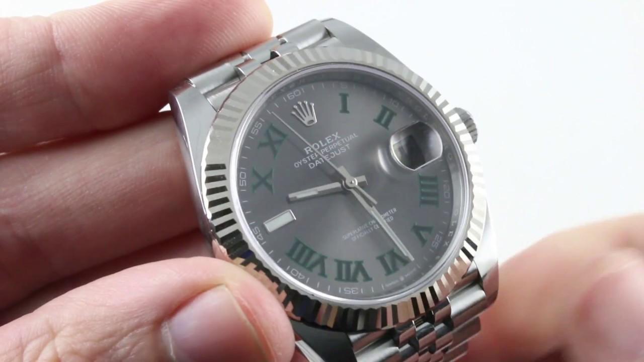 Rolex Datejust 41 (WIMBLEDON DIAL) (126334) Luxury Watch Review