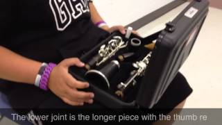 How to put your clarinet together