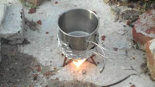 Wet Fire Stove