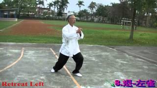 十三式太極拳 口令版 曹力仁 Tai-chi 13 movements