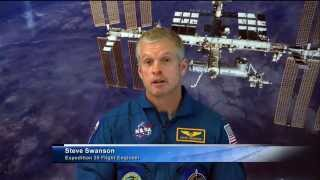 Space Station Live: Astronaut Steve Swanson Interview