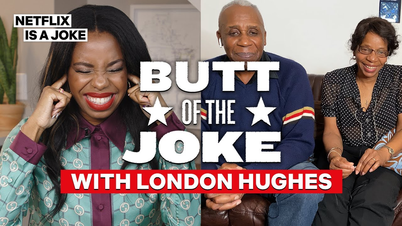 London Hughes's Mom Reacts To Her Stand-Up | Butt Of The Joke