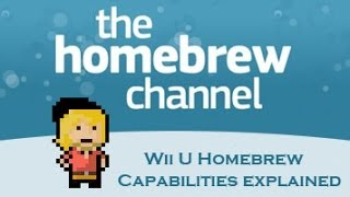 Wii U Homebrew Capabilities Explained (Virtual Wii)