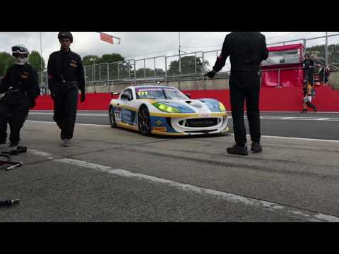 Racing A Ginetta In The British GT Championship