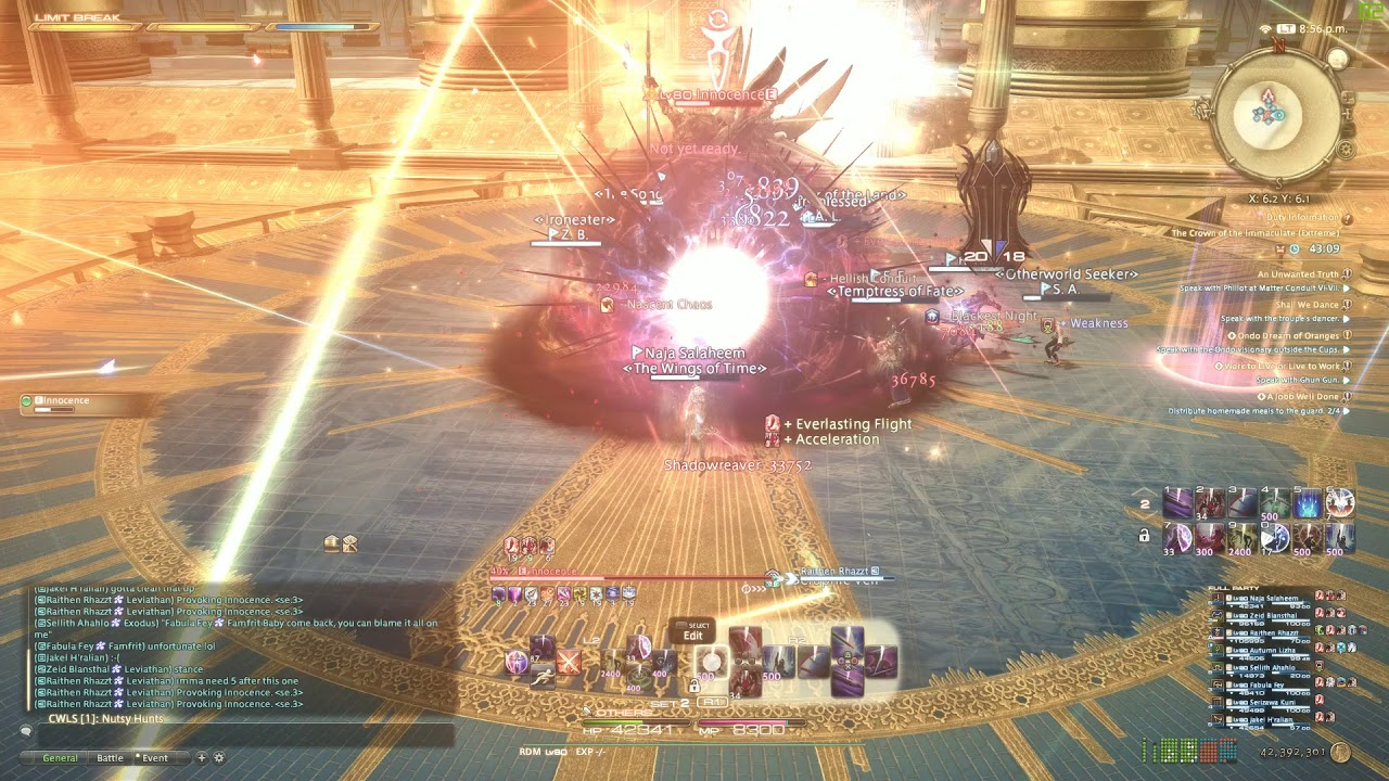 FFXIV: ShadowBringers   INNOCENCE EXTREME!   RDM & SweetFX! Clear!