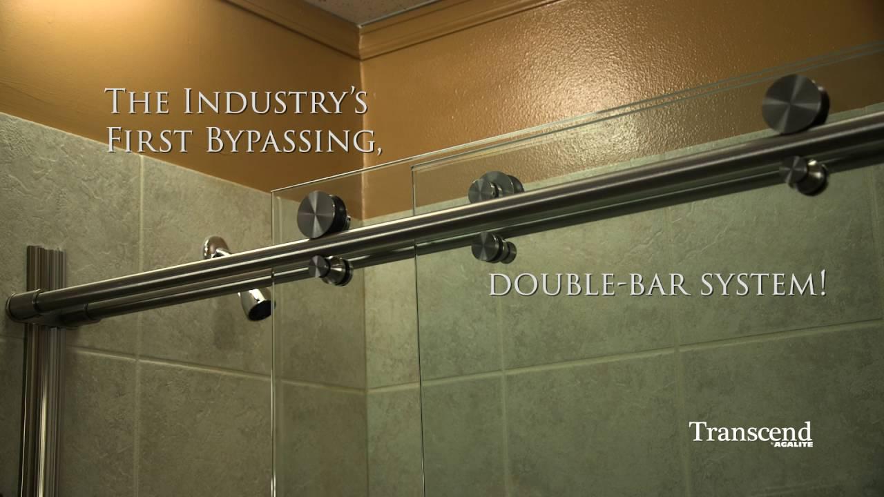 Agalite Shower Bath Enclosures Transcend Collection Youtube
