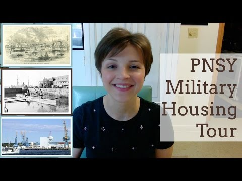 Portsmouth Naval Shipyard (PNSY) Military Housing Tour