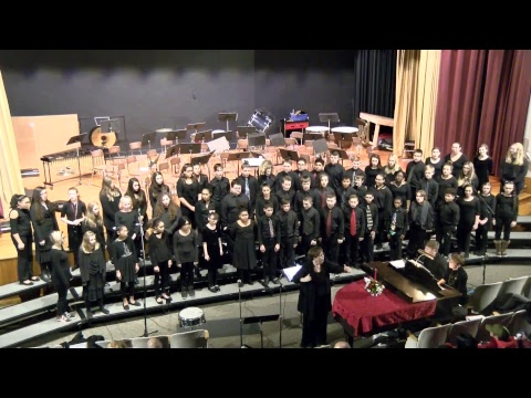 Dunkirk Middle School Holiday Concert Dec. 17th 2018