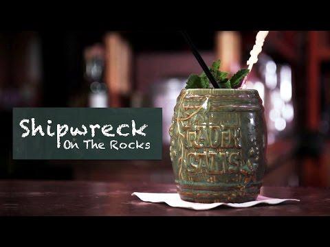 Trader Sam's Shipwreck on the Rocks | Disney Parks Mixology School