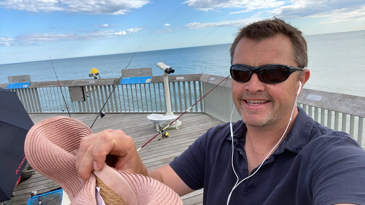 Live lure draw from Hastings pier