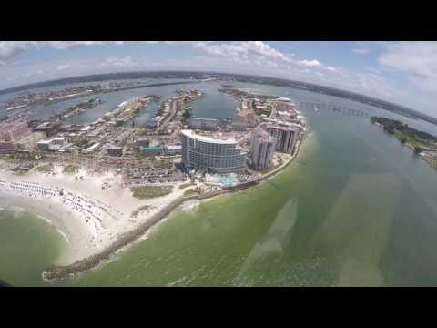 Helicopter ride over Clearwater