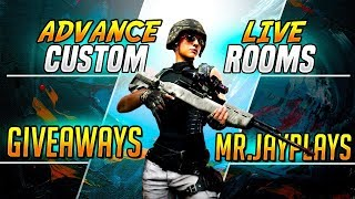 🔴 [LIVE] PUBG Mobile | CUSTOM ROOMS & GIVEAWAYS (SUB TO JOIN)
