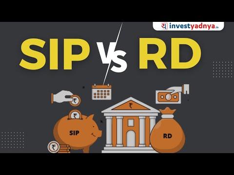 SIP vs RD in Hindi | SIP और Recurring Deposit Account में क्या अंतर है