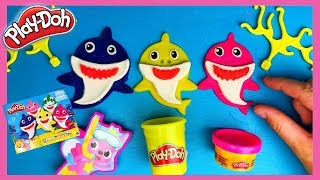 Baby Shark Play-Doh 🎵van Pinkfong | Family Toys Collector