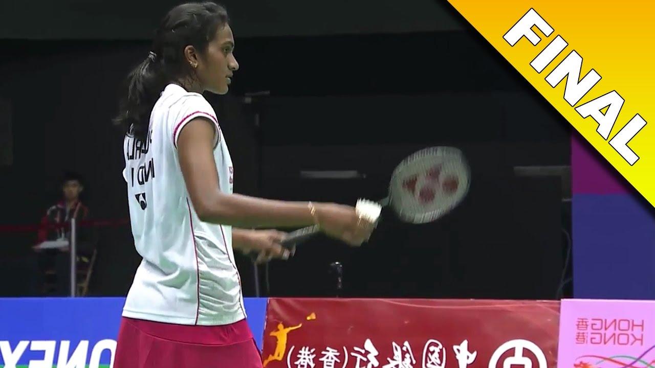 yonex sunrise hong kong open 2016 f pusarla v sindhu vs tai tzu rh youtube com