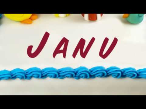 Happy Birthday Janu Youtube