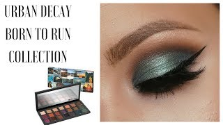 BORN TO RUN URBAN DECAY : FULL COLLECTION : FIRST IMPRESSIONS & FALL MAKEUP TUTORIAL 2018