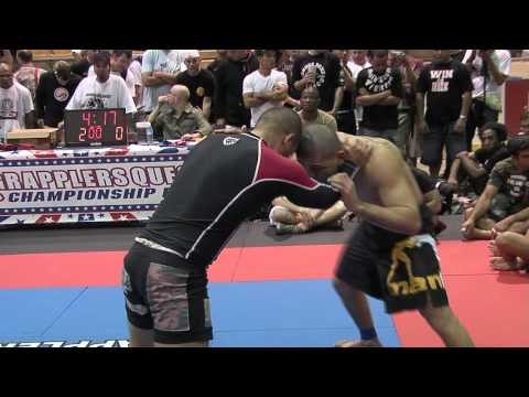 Ricardo Scallisi vs. Marcos Pereira at 2009 Grapplers Quest Pro Submission Grappling Challenge
