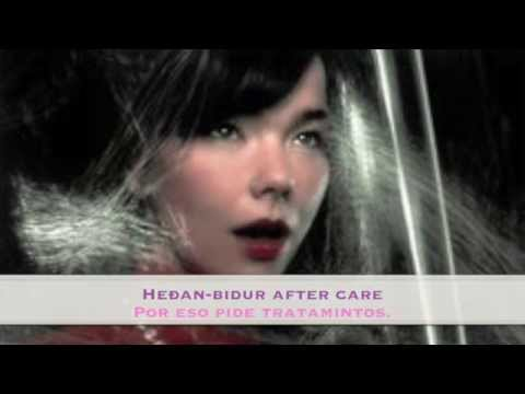 Björk - So Broken subtítulos español lyrics