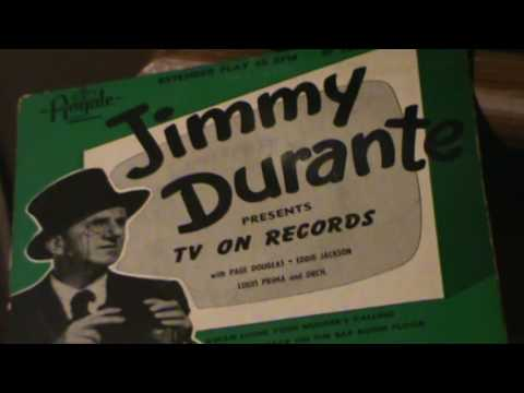 JIMMY DURANTE / Gwan Home Your Mudder's Calling *(1946 Red