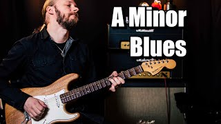 A Minor Blues Improv (With Backing Track)