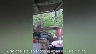 Video From Cell Phone Of Russian Soldier Captured In Ukraine On 16 May 2015. (English subs)(Russian GRU officers, who were captured in Ukraine on 16 May 2015, were stupid enough to record their reconnaissance combat mission on video. After they ..., 2015-06-03T08:56:54.000Z)