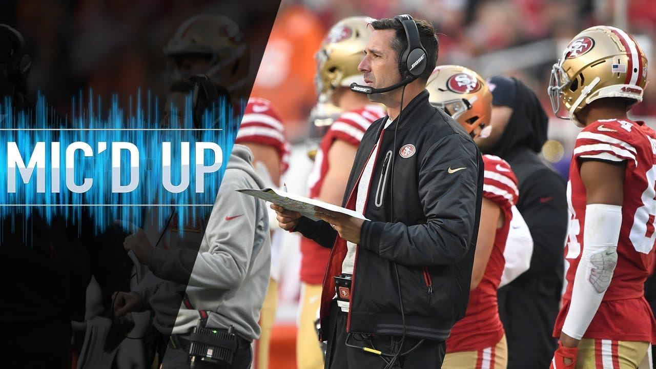 "Kyle Shanahan Mic'd Up vs. Broncos ""What a baller!"" | NFL Films"