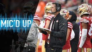 "Kyle Shanahan Mic'd Up vs. Broncos ""What a baller!"" 