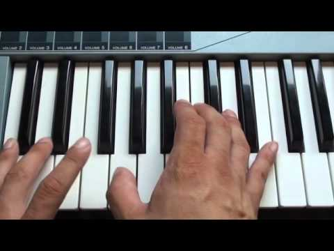How to play Sorry for Party Rocking on piano  LMFAO