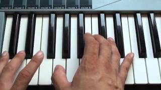 How to play Sorry for Party Rocking on piano - LMFAO