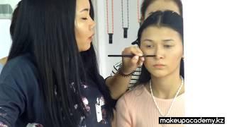 Курсы Визажа в Алматы. MakeUp Academy Школа Визажистов.