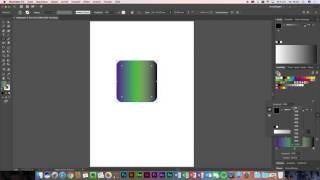 Adobe Illustrator CC - Dąs Verlaufswerkzeug